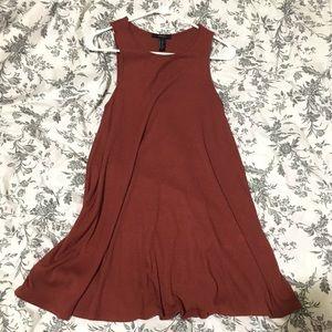 Forever21 Rust Swing Dress